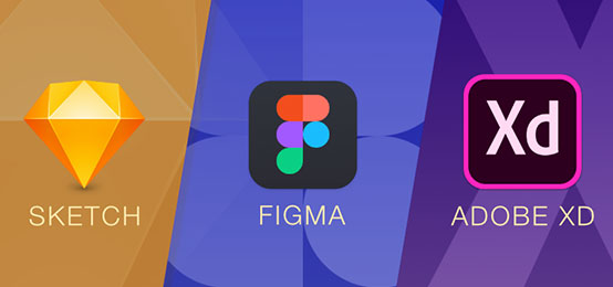 Comparing Sketch, Figma and Adobe XD